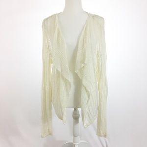 Tommy Bahama Open Weave Draped Cardigan XL